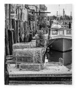 Portland Dock Fleece Blanket