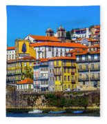 Porto Rising Fleece Blanket