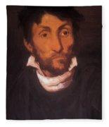 Portrait Of A Kleptomaniac 1822 Fleece Blanket