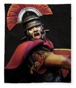 Portrait Of A Roman Legionary - 11 Fleece Blanket