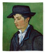 Portrait Of Armand Roulin Fleece Blanket