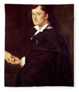 Portrait Of Bartolini Fleece Blanket