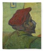 Portrait Of Gauguin Arles December 1888 Vincent Van Gogh 1853  1890 Fleece Blanket