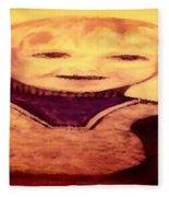 Portrait Of Innocence Fleece Blanket