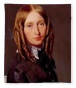 Portrait Of Madame Frederic Reiset 1847 Fleece Blanket