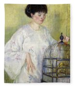 Portrait Of Madame Frieseke Fleece Blanket
