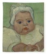 Portrait Of Marcelle Roulin Arles, December 1888 Vincent Van Gogh 1853  1890 Fleece Blanket