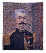 Portrait Of Monsieur Pool 1887 Fleece Blanket