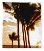 Portrait Of Paradise Fleece Blanket