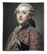 Portrait Of Prince Vladimir Golitsyn Borisovtj Fleece Blanket
