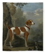 Portrait Of The Duke Of Hamilton Hound Fleece Blanket