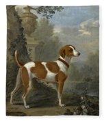 Portrait Of The Duke Of Hamilton's Hound Jewell Fleece Blanket