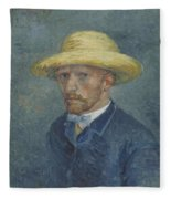 Portrait Of Theo Van Gogh Paris, Summer 1887 Vincent Van Gogh 1853  1890 Fleece Blanket