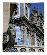 Portugese Architecture 1 Fleece Blanket