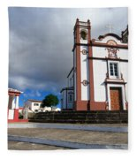 Portuguese Church Fleece Blanket