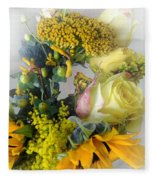 Posies Picturesque Fleece Blanket