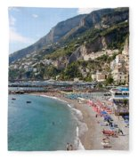 Positano Paradise Fleece Blanket