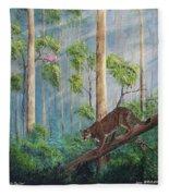 Possible Panther Fleece Blanket