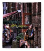 Post Alley Musician Fleece Blanket