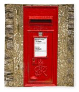 Postbox Fleece Blanket