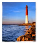Postcard From Barnegat  Fleece Blanket
