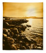 Postcard Perfect Tasmania Fleece Blanket
