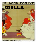 Poster For Cinderella Fleece Blanket