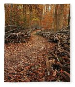 Potomac Heritage Trail Fleece Blanket