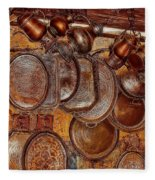 Pots And Pans Shop Or Is Jinni Home  Fleece Blanket