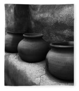 Pottery Tumacacori Arizona Fleece Blanket