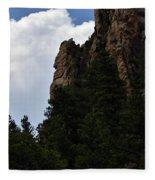 Poudre Canyon Fleece Blanket