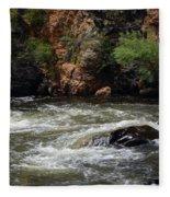 Poudre River Fleece Blanket