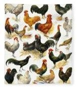 Poultry Fleece Blanket