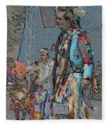 Pow Wow Competition Fleece Blanket