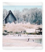 Powell Gardens Chapel Fleece Blanket