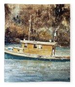 Powell River Canada Fleece Blanket