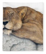 Power And Grace At Rest Fleece Blanket