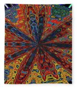 Power Flower Fleece Blanket
