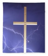 God Power Fleece Blanket