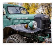 Power Wagon Fleece Blanket