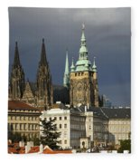 Prague Castle Complex Fleece Blanket