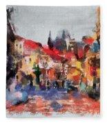 Prague Collection -1 Fleece Blanket