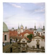 Prague Twilight Fleece Blanket