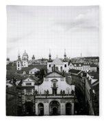 Mysterious Prague Fleece Blanket
