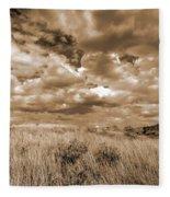 Prairie And Sky Fleece Blanket
