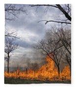 Prairie Fire Fleece Blanket