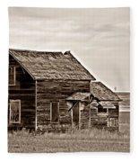 Prairie Home Sepia Fleece Blanket