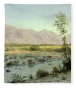 Prairie Landscape Fleece Blanket