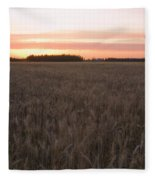 Prairie Pink Fleece Blanket