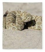 Prairie Rattlesnake  Fleece Blanket